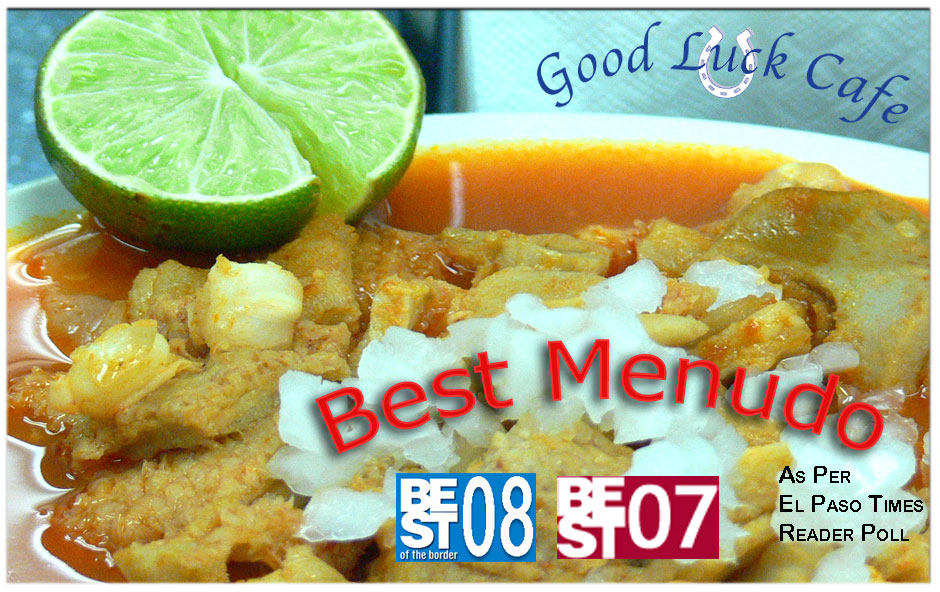 Good Luck Cafe voted best in El Paso.